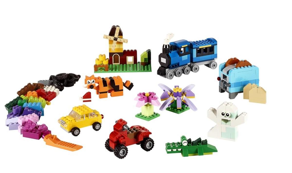 Bild 2 von LEGO® - Classic, Mittelgroße Bausteine-Box; 10696