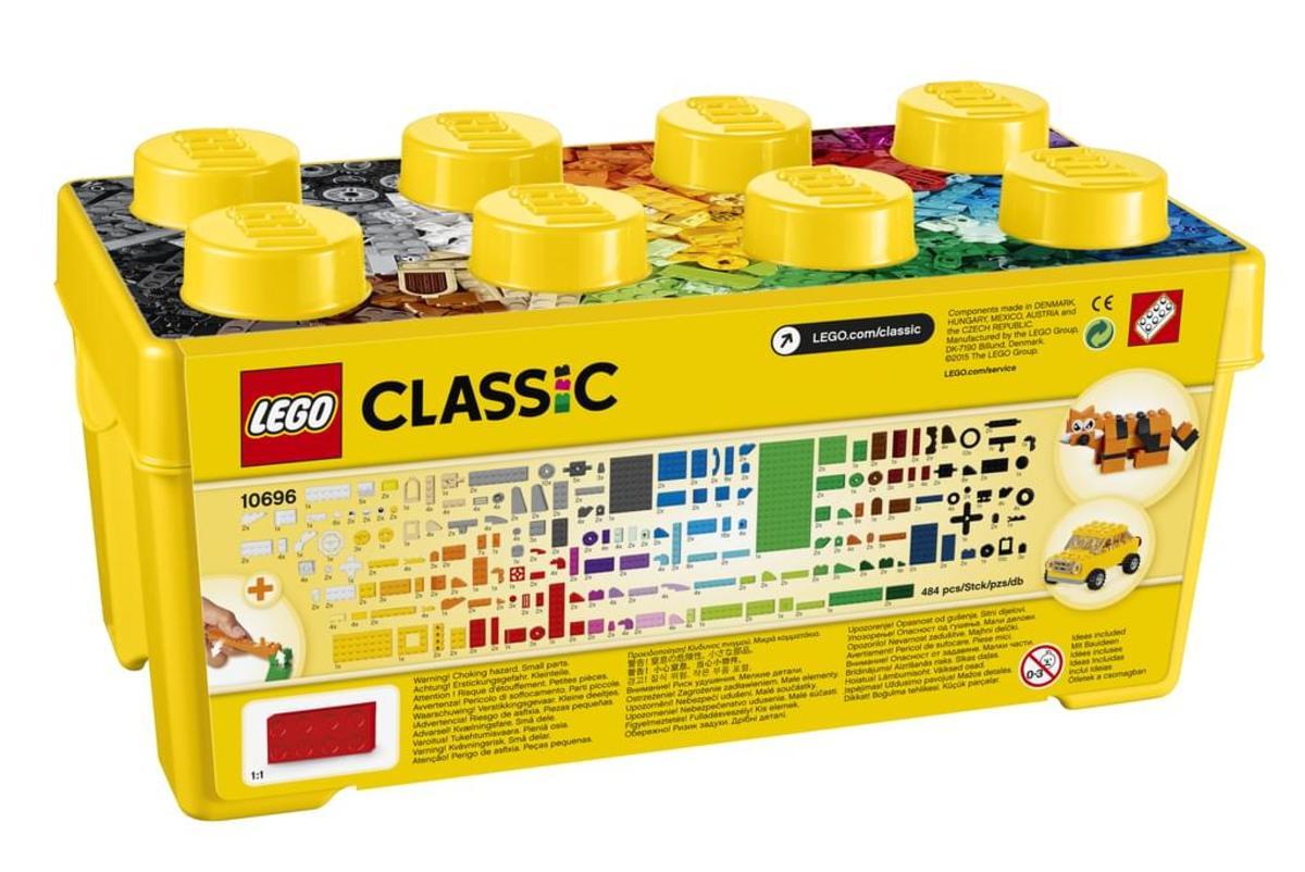 Bild 3 von LEGO® - Classic, Mittelgroße Bausteine-Box; 10696
