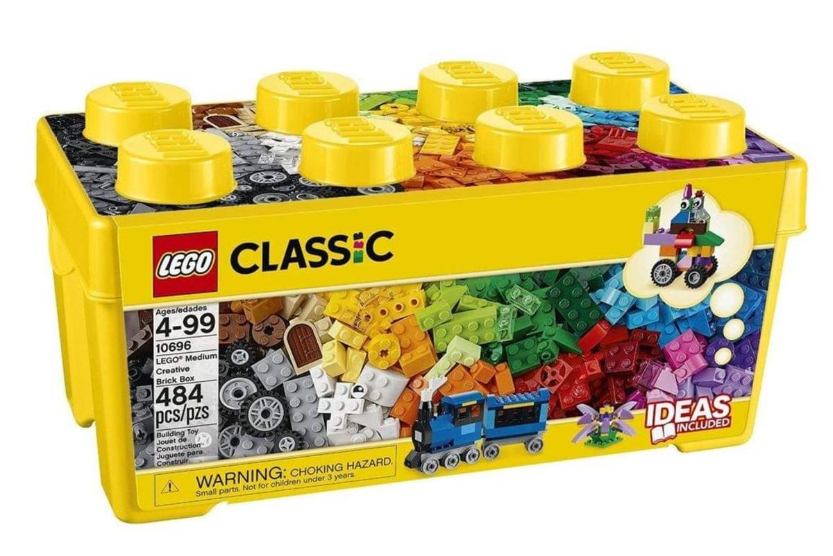 Bild 4 von LEGO® - Classic, Mittelgroße Bausteine-Box; 10696