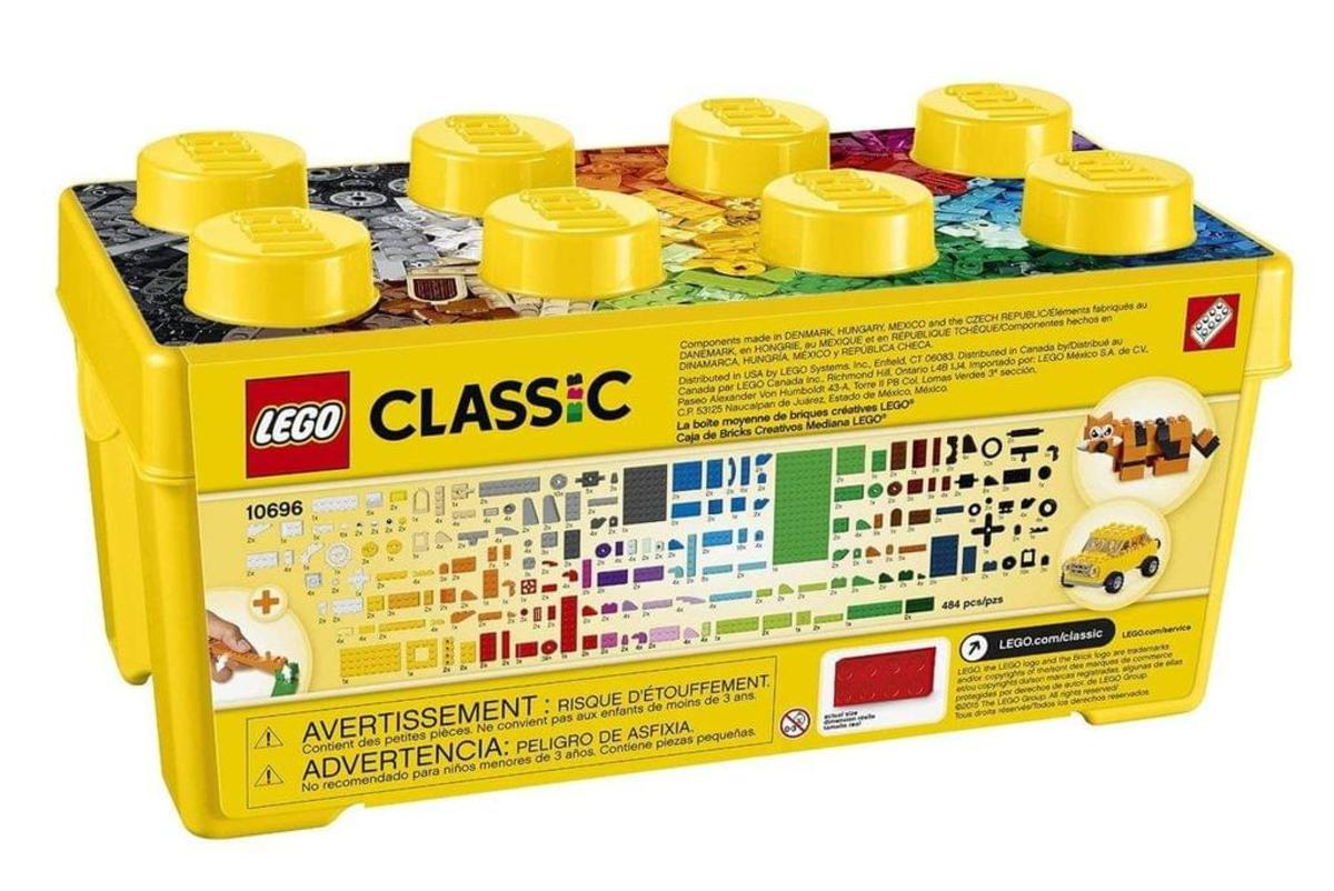 Bild 5 von LEGO® - Classic, Mittelgroße Bausteine-Box; 10696