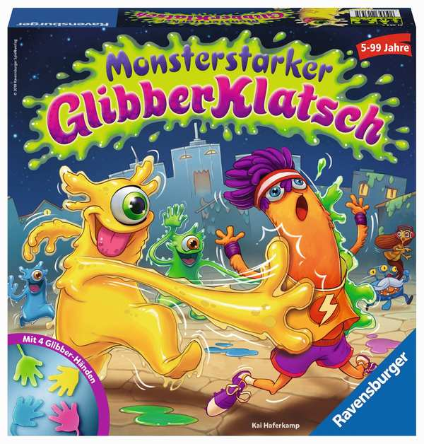 Ravensburger® Spiele - Monsterstarker Glibber-Klatsch