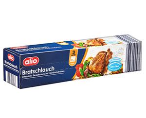 alio Bratschlauch oder 6 Bratbeutel