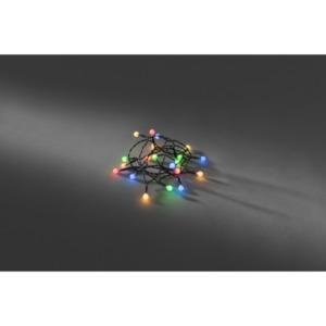 KONSTSMIDE                 LED-Globelichterkette, 20 Dioden, bunt