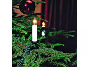 KONSTSMIDE                 Kerzen-Lichterkette, 12 m, 16 Topbirnen