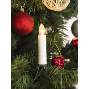 KONSTSMIDE                 LED-Kerzenlichterkette, Topbirnen, 16 Dioden, warmweiß