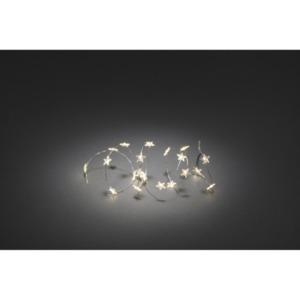 KONSTSMIDE                 LED-Dekolichterkette, 20 Sterne, warmweiß