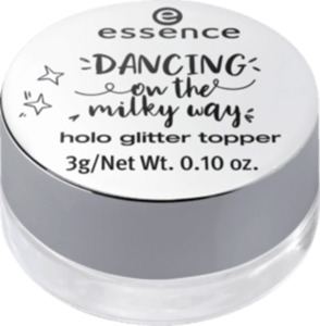 essence cosmetics dancing on the milky way holo glitter topper 01