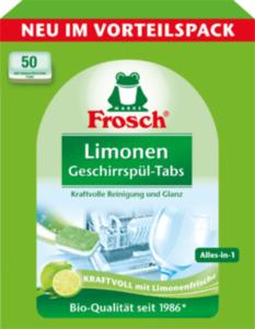 Frosch Limonen Geschirrspül-Tabs