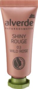 alverde NATURKOSMETIK Shiny Rouge 03 Wild Rose