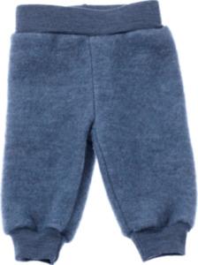 ALANA Baby-Wollhose, Gr. 80, in Bio-Schurwolle und Bio-Baumwolle, blau, für Mädchen und Jungen
