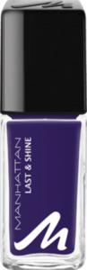 MANHATTAN Cosmetics Nagellack Last & Shine Nailpolish Dark Vibes 365
