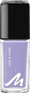 MANHATTAN Cosmetics Nagellack Last & Shine Nailpolish Lilac Mood 345