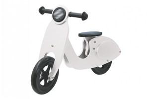 Jamara Holz-Laufrad Roller weiß