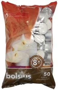 Bolsius Teelichte 50 Stück