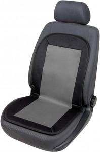Walser Sitzaufleger beheizbar ,  schwarz-grau