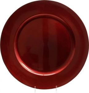 Kaemingk Kunststoffteller ,  Ø 33 cm, rot