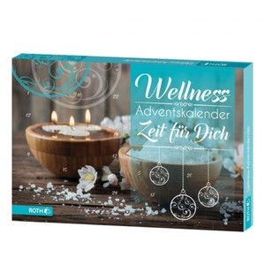 Roth Adventskalender Wellness - Zeit für Dich ,  24 verschiedene Wellnessartikel