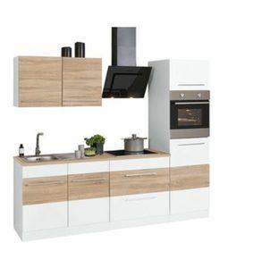HELD MÖBEL Küchenzeile mit E-Geräten »Trient«, Breite 240 cm