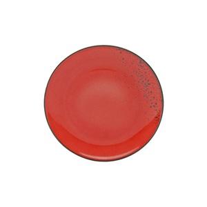 CREATable Teller flach /Speiseteller Ø 27 cm NATURE COLLECTION Rot