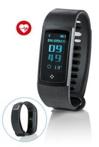 Fitnessarmband mit Puls- und Blutdruckmessung