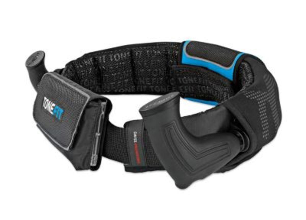 Bild 1 von ToneFit Fitnessgürtel schwarz/blau