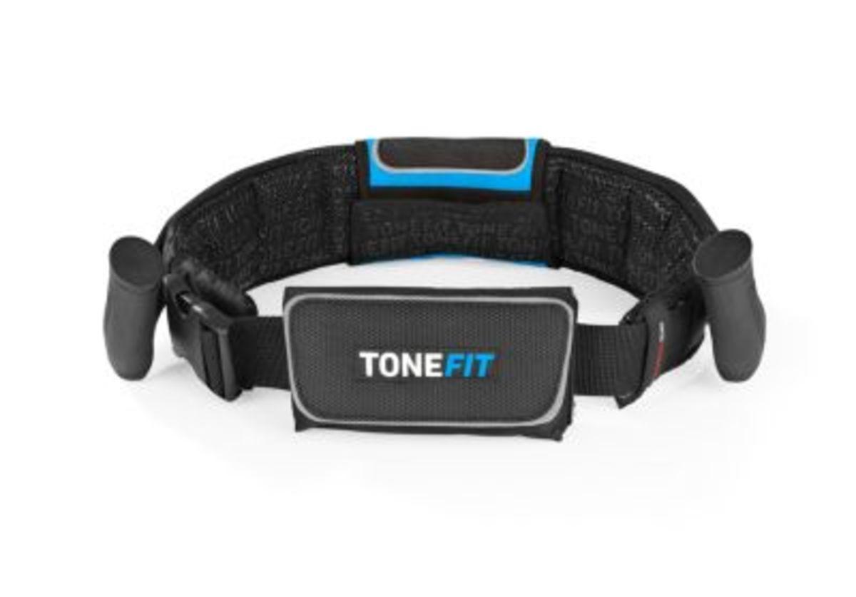 Bild 4 von ToneFit Fitnessgürtel schwarz/blau