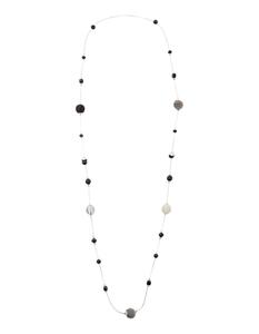 Damen Halskette mit Ziersteinen und Kugeln