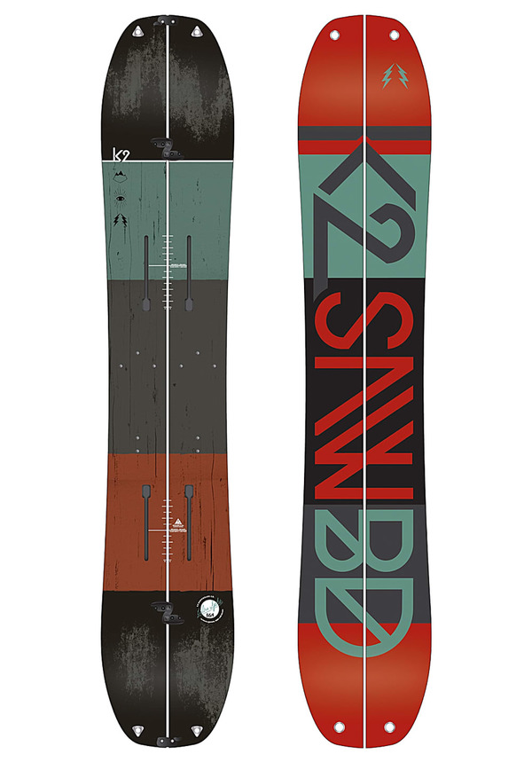 K2 Snowboarding Ultra Split 164 cm - Splitboard für Herren - Mehrfarbig