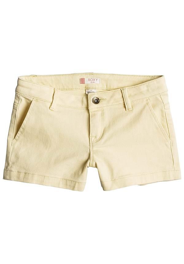 Roxy Sunset Clouds - Shorts für Mädchen - Gelb