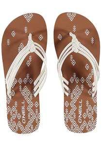 O´Neill 3 Strap Ditsy - Sandalen für Damen - Weiß