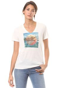 Hurley Trail Perfect V - T-Shirt für Damen - Weiß