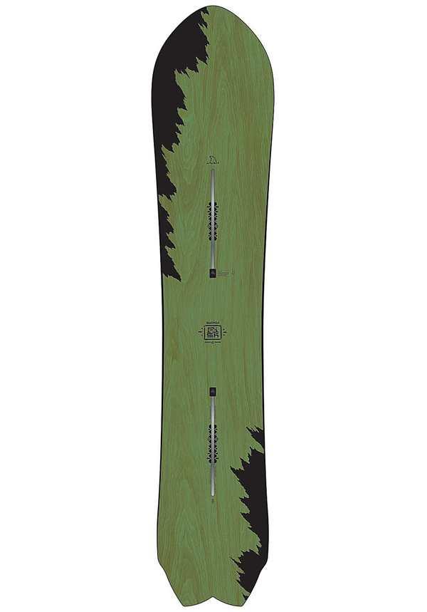Burton Fish 161cm - Snowboard für Herren - Grün