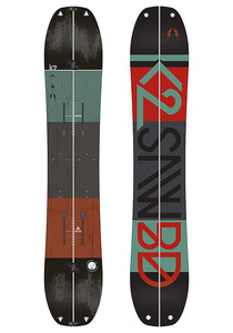 K2 Snowboarding Ultra Split 155 cm - Splitboard für Herren - Mehrfarbig