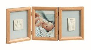 Baby Art Double Print Frame Honey