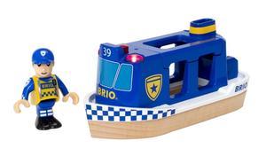 BRIO Polizeiboot mit Licht und Sound