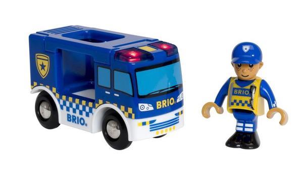 BRIO Polizeiwagen mit Licht und Sound