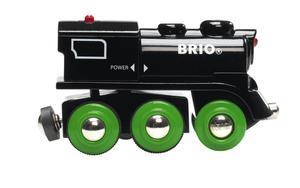 BRIO World Schwarze Akku-Lok mit Mini-USB