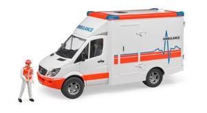 Bruder Mercedes Benz Ambulanz mit Figur
