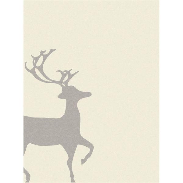 S.Oliver Wohndecke Rentier, 150x200 cm, elfenbein