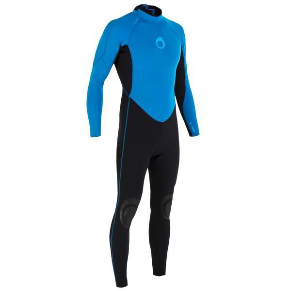 Neoprenanzug Surfen 100 2/2 mm Herren blau
