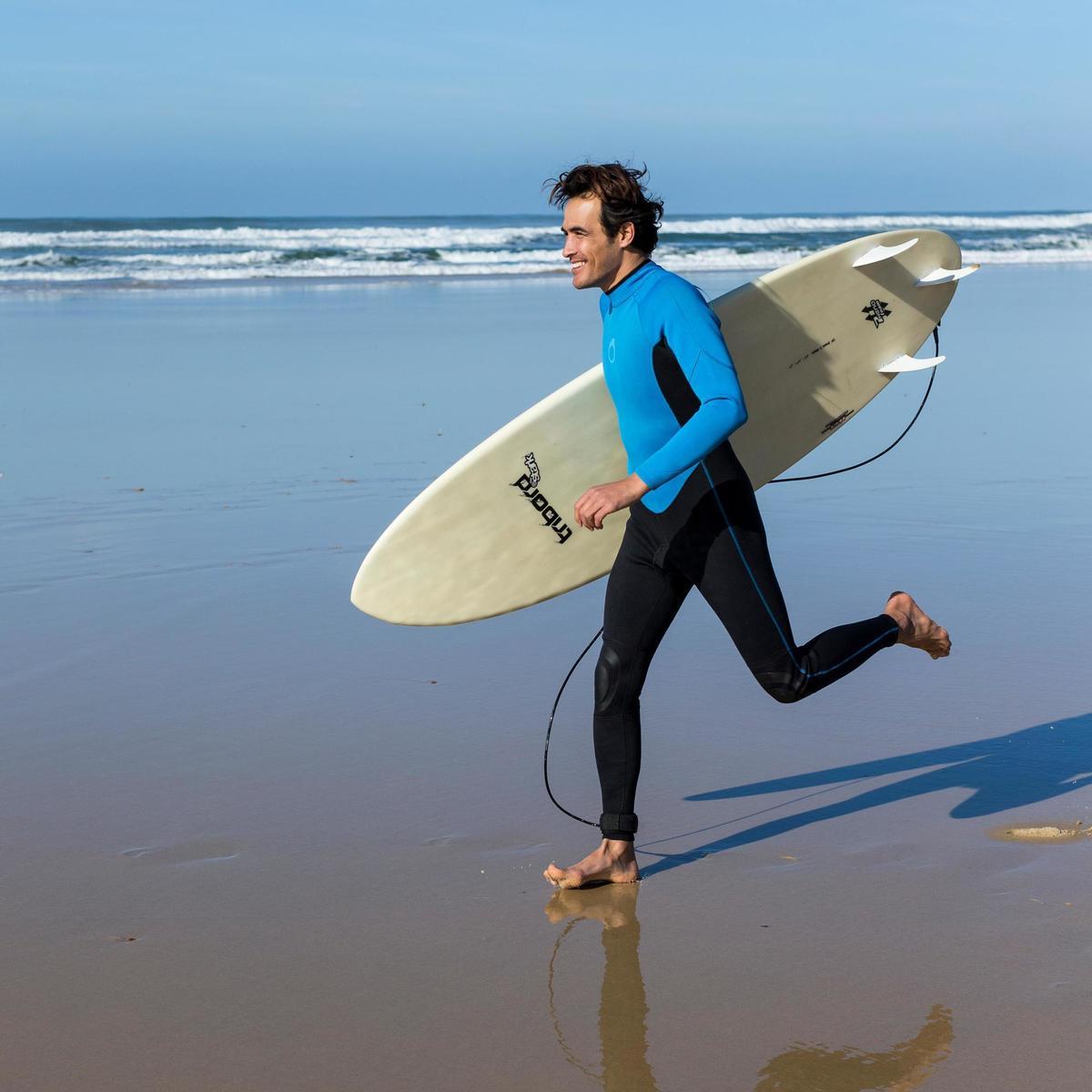 Bild 2 von Neoprenanzug Surfen 100 2/2 mm Herren blau