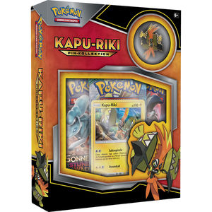 Amigo Pokémon - Kapu-Riki Pin Box