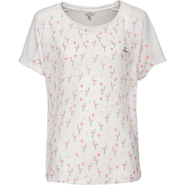 a1224d7acaa817 Peckott Damen T-Shirt mit Flamingo-Front von Karstadt für 6