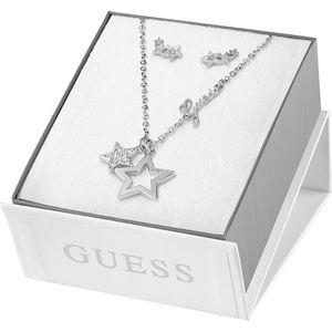 """Guess Damen Geschenkset Starlicious """"UBS84000"""", Messing mit Swarovski"""