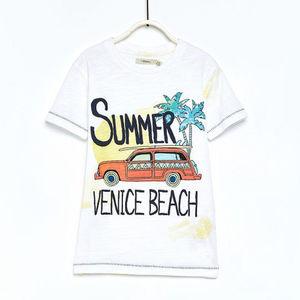 Sfera Jungen T-Shirt mit Sommer-Print