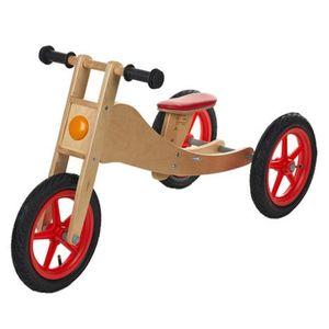 GEUTHER   Laufrad Bike aus Holz 2-in-1