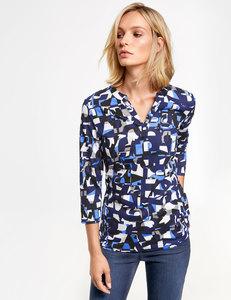 Shirt mit grafischem Muster organic cotton