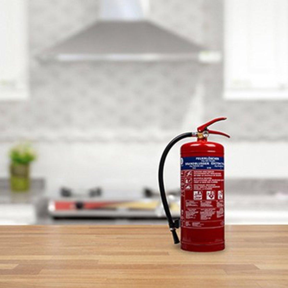 Bild 2 von Smartwares Pulverlöscher ABC mit Halterung 6 kg