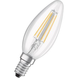 Osram LED-Filament-Leuchtmittel Kerzenform E14 / 4 W (470 lm) Warmweiß EEK: A++
