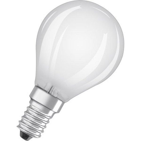 Osram Led Lampe Base Tropfenform E14 4 W 470 Lm Warmweiss 2er